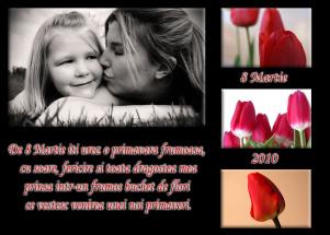 Felicitare 8 martie