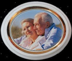 Ceramica oval